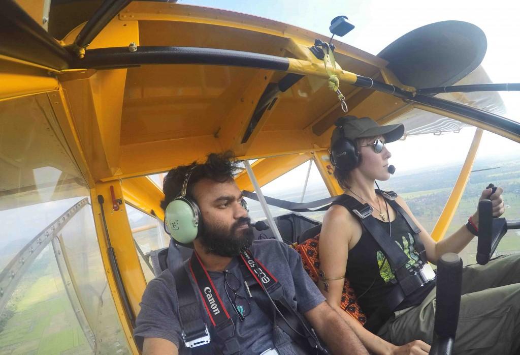 Prasanth Mohan in Aeroprakt A22L2 Helicopter.